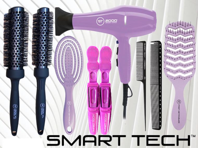 Smart Tech Dryer Bundle - ST2000 Purple