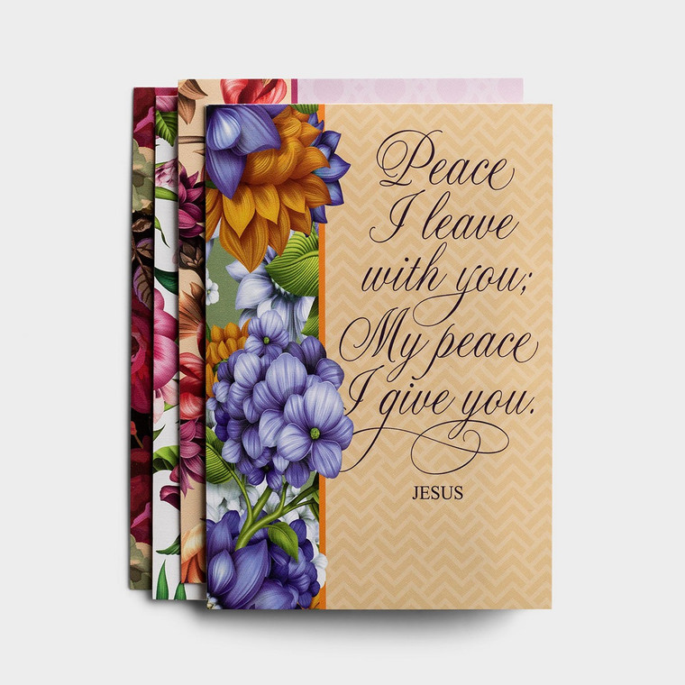 DAYSPRING BOXED CARDS - Sympathy - Peace I Leave with You - KJV