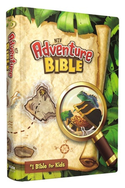 NIV Kid's Adventure Bibles (Hard and Softcover)