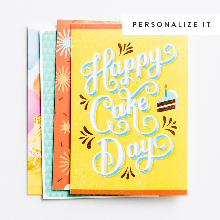 DAYSPRING BOXED CARDS - Birthday - Celebrating You