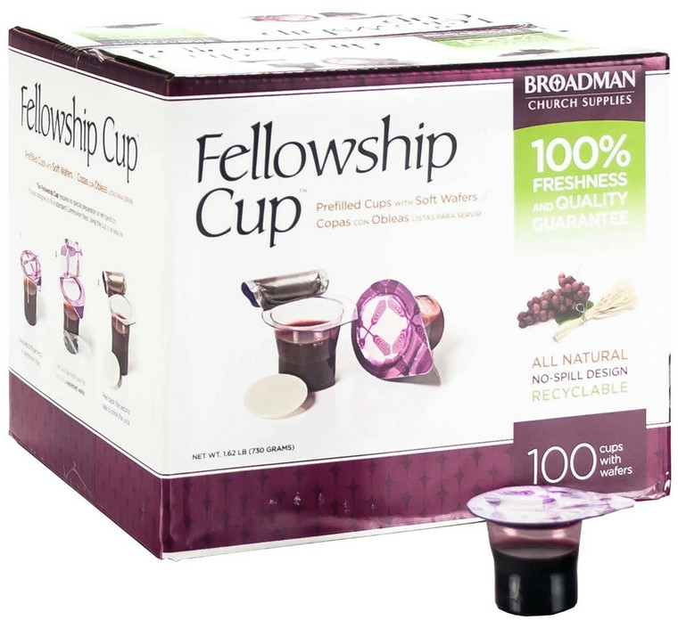 Fellowship Pre-Filled Communion Cups