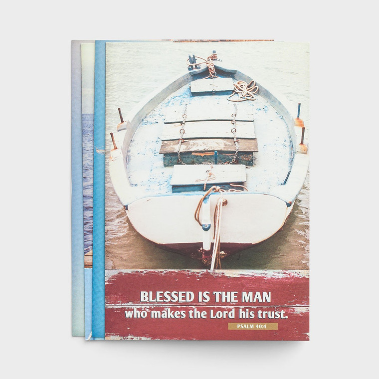 DAYSPRING BOXED CARDS - Birthday - Blessed is the Man