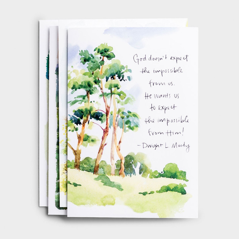 DAYSPRING BOXED CARDS - Praying for You - Classic Quotes - KJV