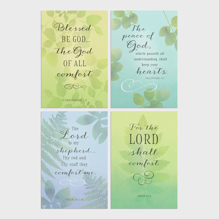 DAYSPRING BOXED CARDS - Sympathy - Thoughts and Prayers - KJV
