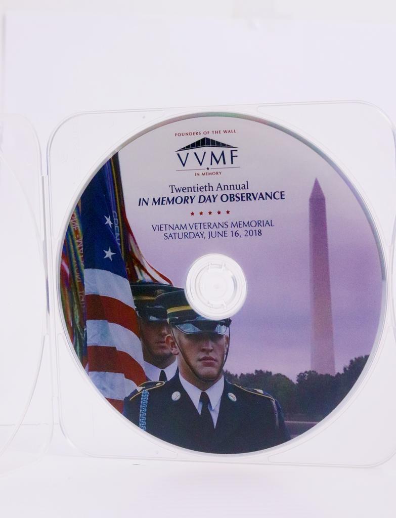 In Memory Day DVD - 2018