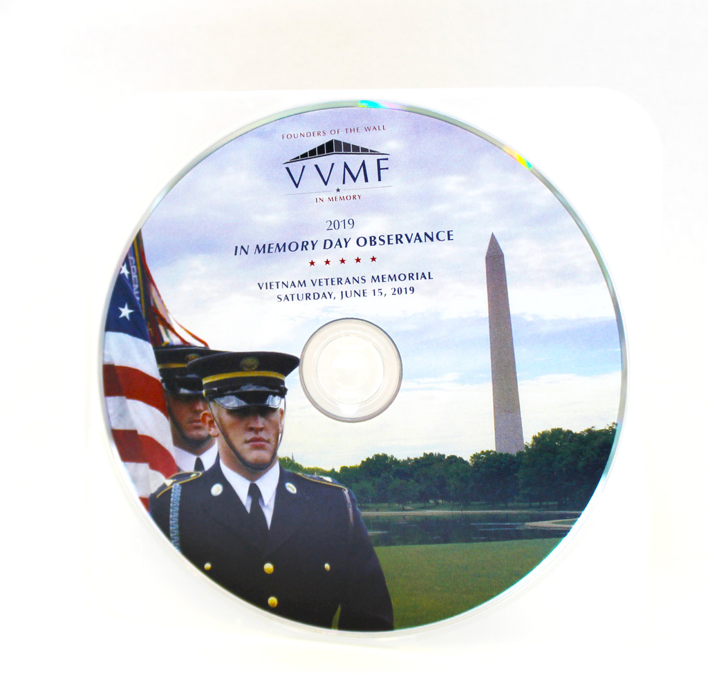 In Memory Day DVD - 2019
