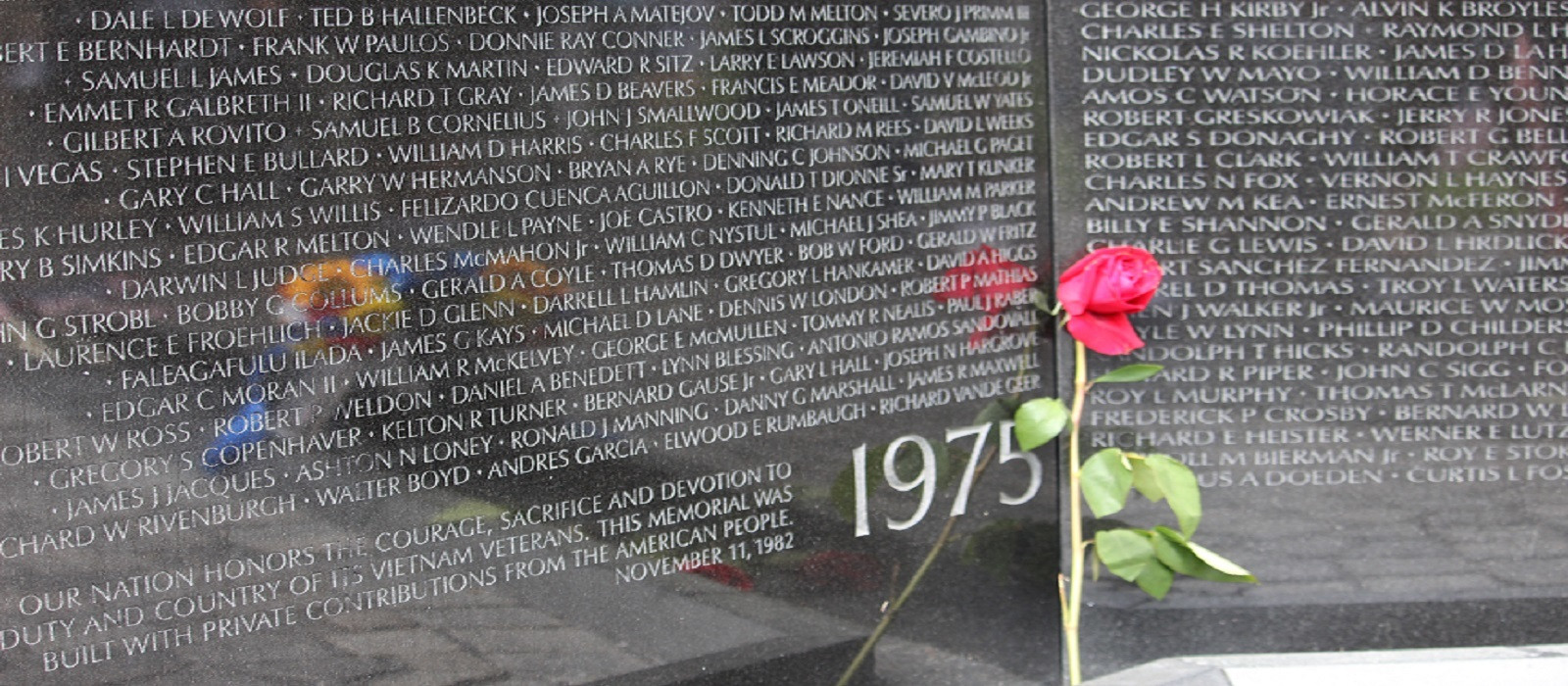 The Vietnam Veterans Memorial/The Wall