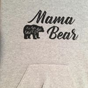 Don't forget to order matching baby bear and Papa Bear shirts too