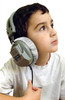 Large HygenX45 Sanitary Covers for Deluxe Headphones for Kids