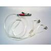 Otoclip binaural for ITE hearing aids