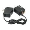 Digital to Analog TV Audio Converter - Optical Coax to Analog RCA Audio Adapter with Optical Cable 3.5mm Jack Output