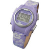 VibraLITE MINI Vibrating Kids Watch - Purple Flower