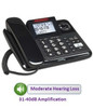 Clarity Model E814 - Amplified Corded Telephone with Answering Machine