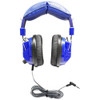 HamiltonBuhl Kids Blue, Deluxe Stereo Headphone with 3.5mm Plug and Volume Control