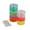 7 Day Stackable Pill Box with Extra Lid (Medium)