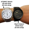 LIBERTY Low Vision Talking Atomic Watch with Stretch Band
