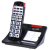 Amplified Cordless Big Button Telephone with Talking Caller ID for Mild to Moderate Hearing Loss - Serene Innovations Model CL30