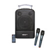 HamiltonBuhl High Quality PA System - DVD/CD/MP3 Bluetooth and Wireless Handheld Microphones