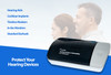 Truedio Automatic Hearing Aid Dryer & Dehumidifier - Double UV-C Light - Dehumidifier for Hearing Aids and Hearing Devices