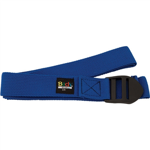 Body Sport Cotton Yoga Strap with PVC Buckle
