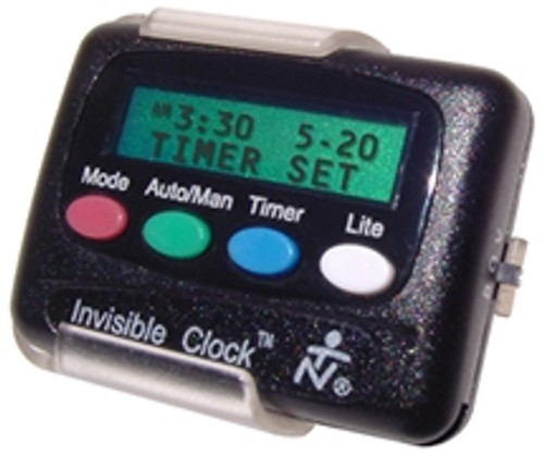 Invisible Clock II Personal Timer with Vibrating/Beeping Alarm - Model ICLOCK