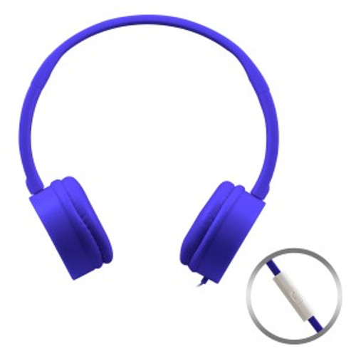 HamiltonBuhl KidzPhonz Headset with In-Line Microphone