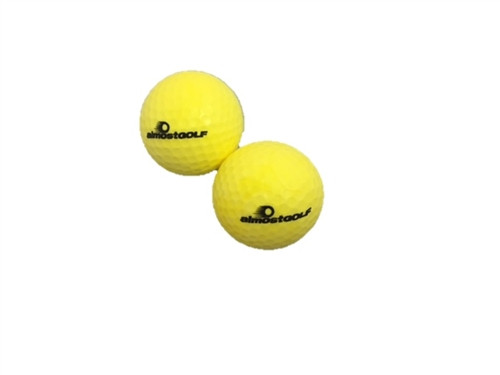 Almost Golf P3 Limited Flight Practice Balls - 2 Pack