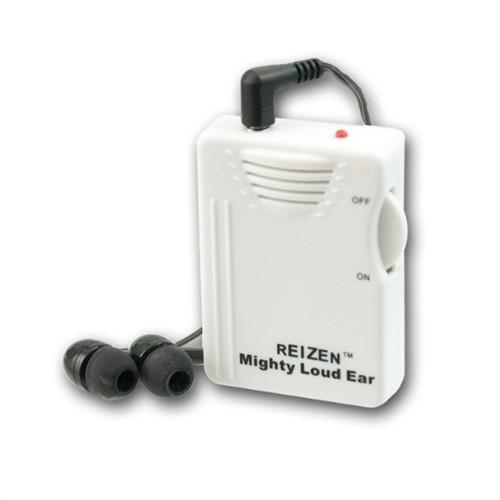 Reizen Mighty Loud Ear Personal Sound Amplifier - 120dB Gain