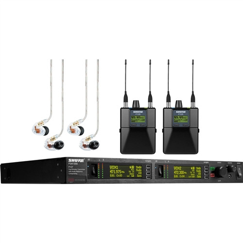 Shure PSM 1000 Wireless System