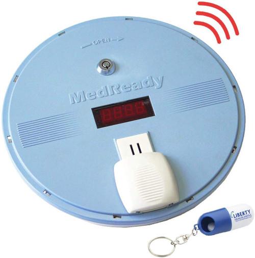 MedReady 1700 Medication Dispenser with Locking Lid