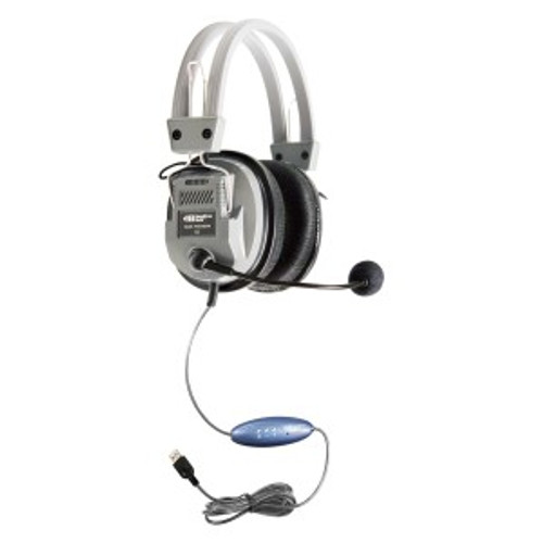 HamiltonBuhl Deluxe USB Headset with Microphone
