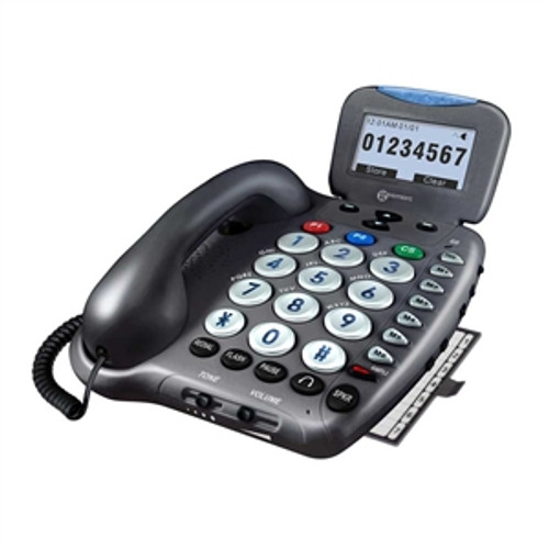 Extra Loud Big Button Telephone for Severe Hearing Loss - Geemarc Model AMPLI550