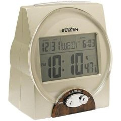 LIBERTY Low Vision Talking Atomic Alarm Clock with Large Digital Display