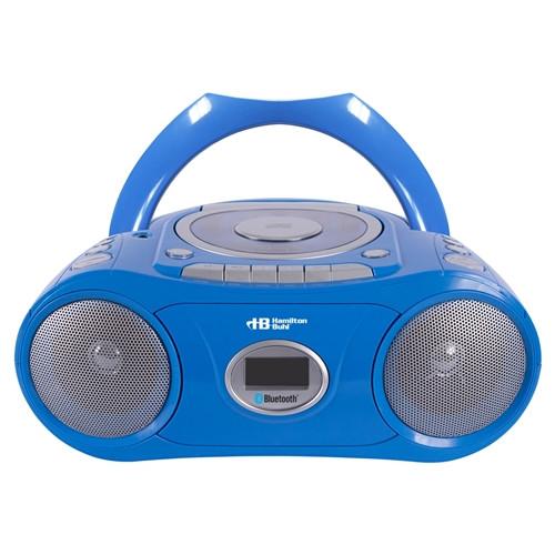 HamiltonBuhl Bluetooth, CD, Cassette, FM Boombox