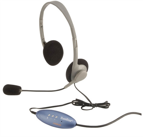 USB Headphones for Kids with mic