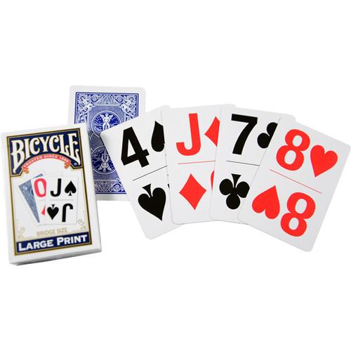 Bicycle Super Jumbo Single Bridge Sized Cards