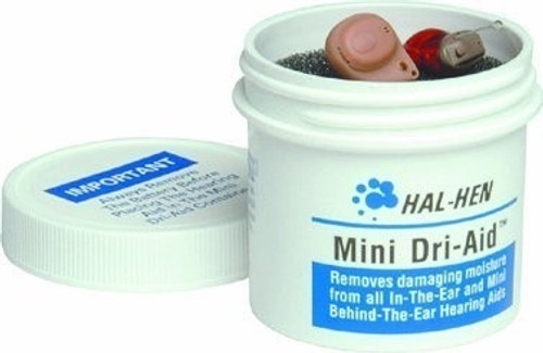 Mini Dri-Aid Hearing Aid Dehumidifier by Hal-Hen