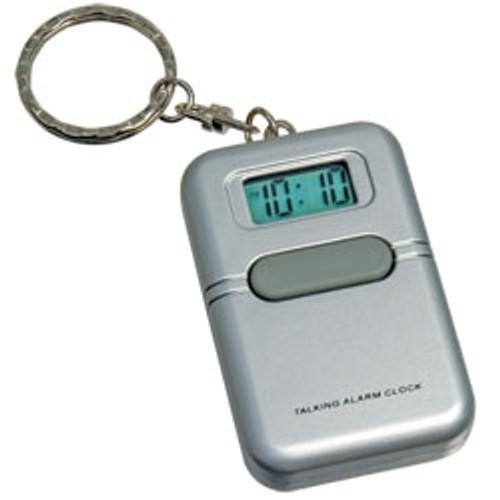 LIBERTY Low Vision Silver Talking Keychain Alarm Clock