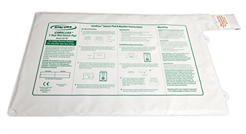 "Smart Caregiver CordLess Bed Sensor Pad 20""x30"" - 1 year pad life"