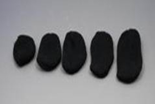Protective Hearing Aid Cover and Sweatband - Black Color - 1 pair