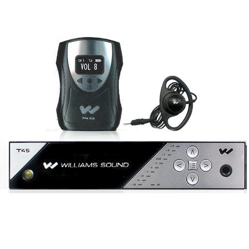 The FM 458 features the cutting-edge PPA T45 transmitter, with multiple digital audio input options and an OLED display with easy-to-manage menu navigation.