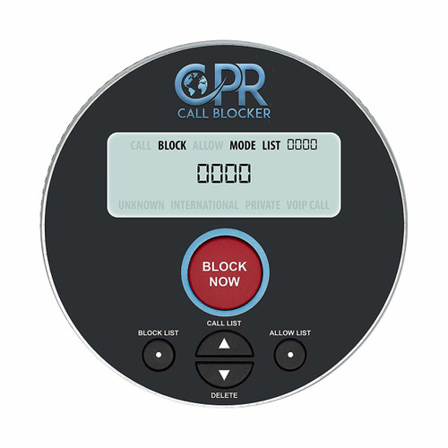 CPR V10000 Call Blocker- Introducing Our Latest Model Call Blocker with Dual Mode Protection. Pre-Loaded with 10,000 Known Robocall Scam Numbers - Block a Further 2,000 Numbers at a Touch of a Button