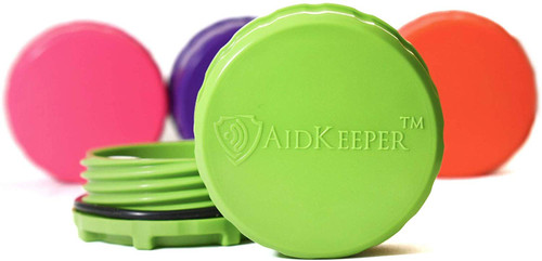 AidKeeper Hearing Device Protection Case - Crush & Water Resistant Hard Case for Storage and Protection of Hearing Aids, Spare Batteries, and Other Hearing Devices