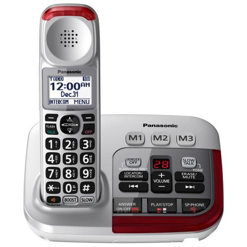 Panasonic KX-TGM450S Amplified Cordless Phone with Digital Answering Machine