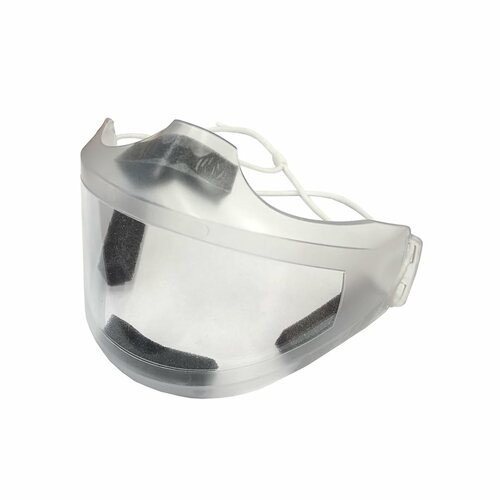 See Me Reusable Transparent Face Mask for Glasses with Adjustable Strap (Ea.)