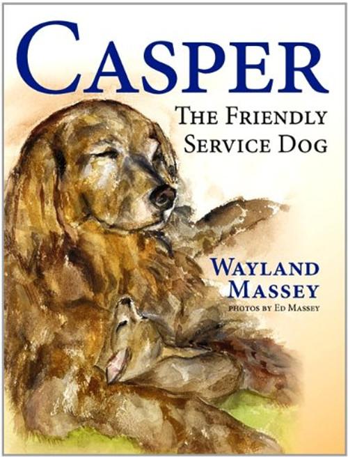 Casper, The Friendly Service Dog
