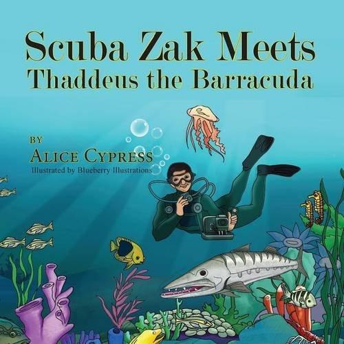 Scuba Zak Meets Thaddeus the Barracuda