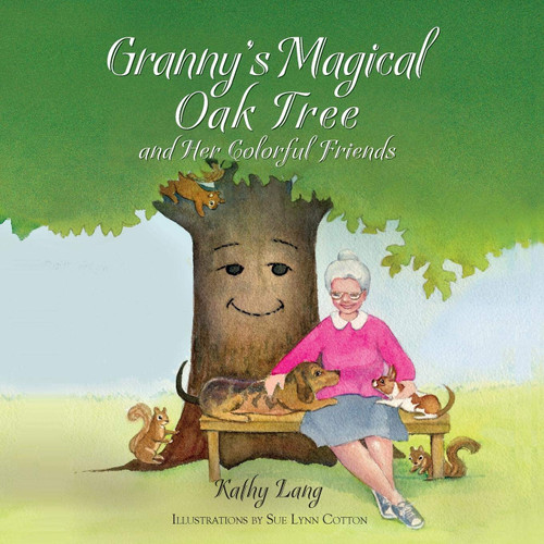 Granny's Magical Oak Tree and Her Colorful Friends