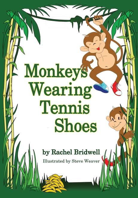 Monkeys Wearing Tennis Shoes
