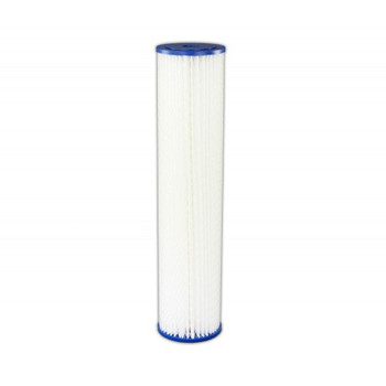 FT05019 - 20 micron Pleated Filter Cartridge 9 3/4""